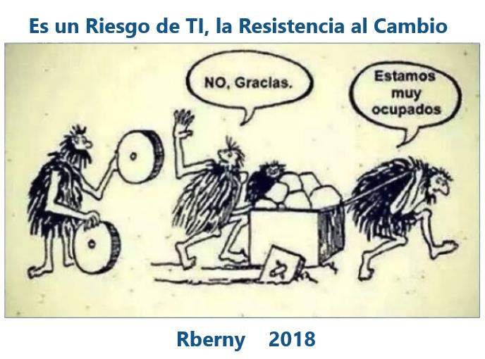 Es un Riesgo de TI, la Resistencia al Cambio Rberny 2021