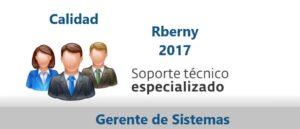 Soporte Técnico TI de Calidad Rberny 2017