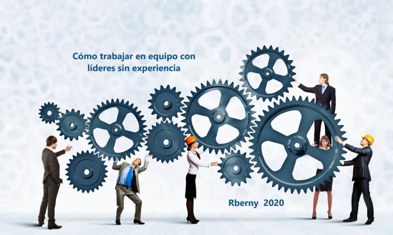 Cómo trabajar en equipo con líderes sin experiencia Rberny 2020