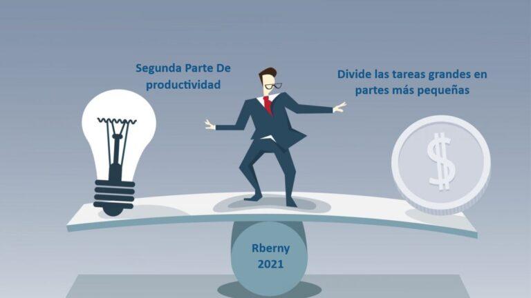 Productividad es simplemente una cuestión de elegir trabajar de manera inteligente todos los días - Rberny 2021